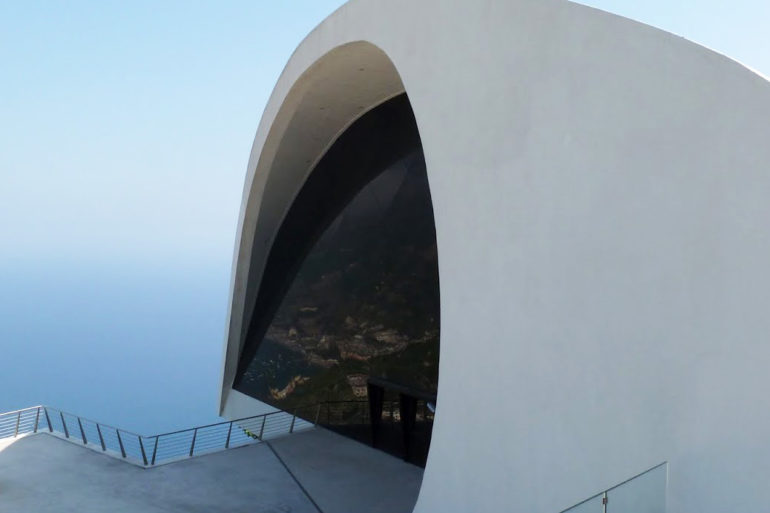 vetro auditorium ravello oscar neimeyer